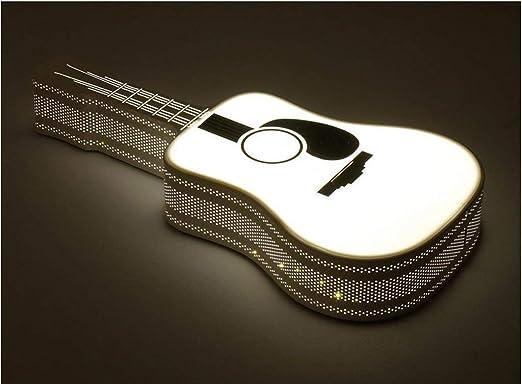 MJY Techo de la guitarra, hierro Guitarra Led lámpara de pared ...