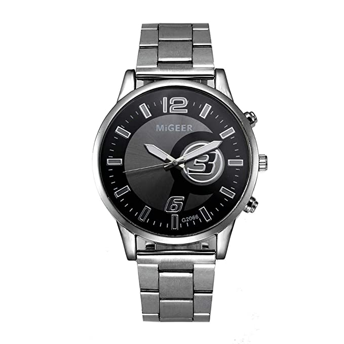 Rcool Relojes suizos relojes de lujo Relojes de pulsera Relojes para mujer Relojes para hombre Relojes deportivos,Reloj de cuarzo analógico de cristal de ...