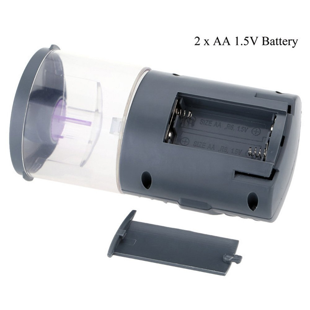 JunBo Automatic Fish Feeder Fish Food Dispenser for Fish Tank Aquarium