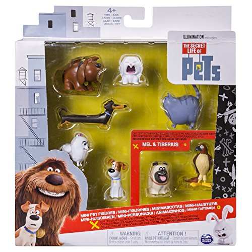 The Secret Life of Pets Exclusive Mini Figure 8-Pack