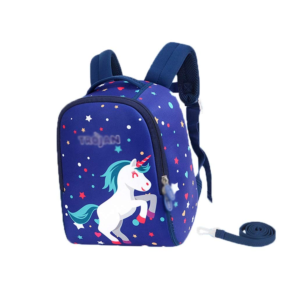 LMETBB Toddler Baby, Anti-Lost Lost Cartoon Backpack, Safety Backpack Kid Anti-Lost, Toddler Backpack, Cute Cartoon Backpack, Anti-Slip Buckle Design, boy Girl (Color : E)