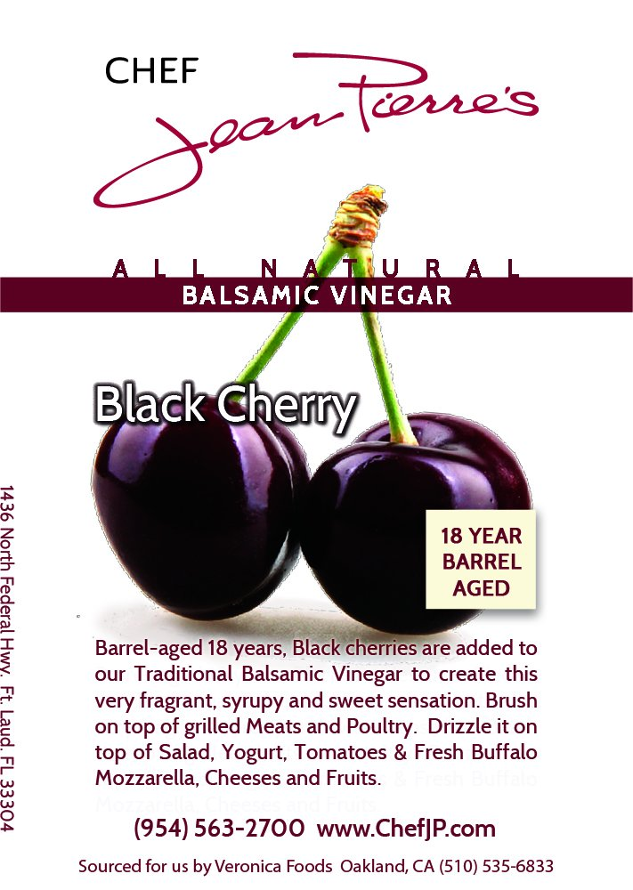 Black Cherry Traditional Barrel Aged 18 Years Italian Balsamic Vinegar 100% All Natural 2 Dark color, syrupy consistency, rich aroma and complex flavor Aged in 6 types of wood for a minimum of 18 years 100% natural, Certified organic No additive, NO sugar added, NO preservative of any kind