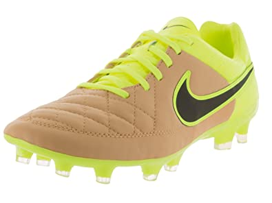 Nike Men's Tiempo Legacy FG - (Canvas/Black-Volt-Volt) (
