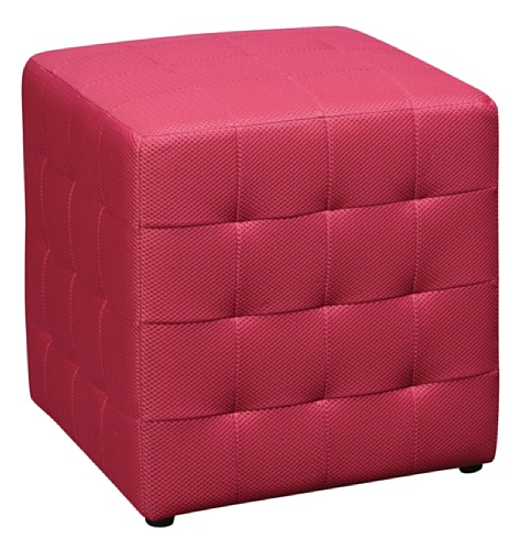 office-star-detour-15-inch-mesh-fabric-cube-ottoman-pink