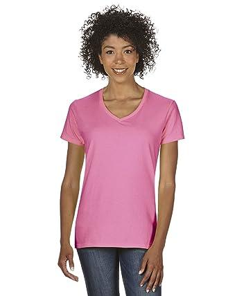 97ea2232f Amazon.com: Gildan - Heavy Cotton Women's V-Neck T-Shirt - 5V00L ...