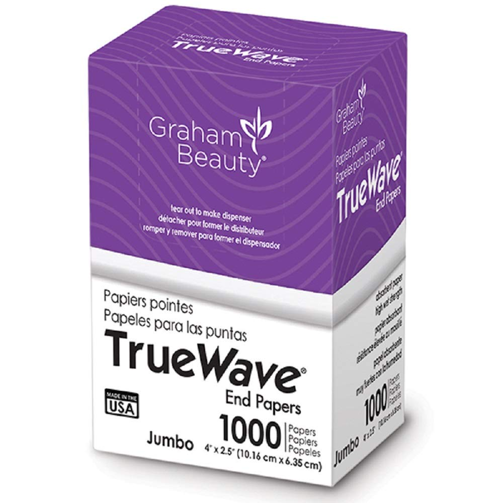 Graham Beauty Salon Truewave Jumbo End Paper 1000 Pack - HC-26067