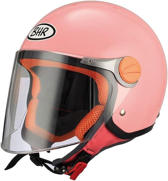Bhr Demi Jet Kinder Motorradhelm Modell Junior 713 Farbe Rosa GrÖße Ys Auto