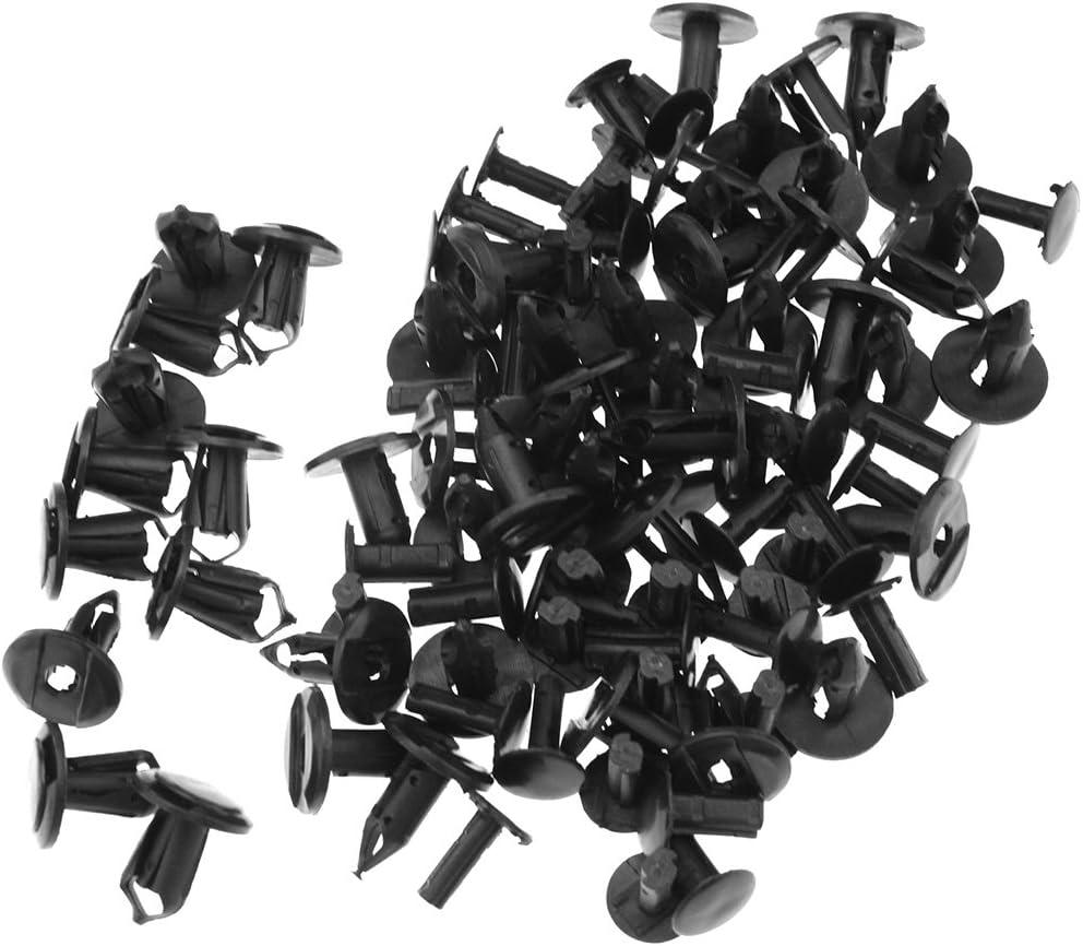 EMMA Clips de fixation pour la garniture int/érieure VW Transporter T4 T5// Noir