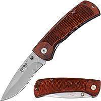 Grand Way Gentleman's Folding Knife - Pocket Knife with Wood Handle - Best Pocket Folding Knife for Camping Survival and Outdoor Activities 16
