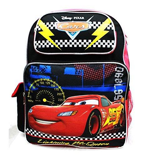 - Disney Backpack Cars - Lightning McQueen Black New A08495