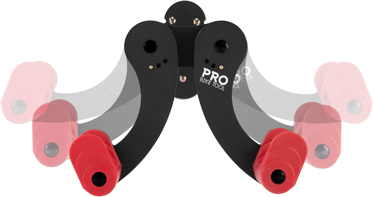 para 1 bicicleta en el garaje o en casa soporte seguro y seguro gancho para bicicletas monta/ña o bicicletas h/íbridas colgador de ciclismo Soporte de pared horizontal para bicicleta para colgar en tu carretera