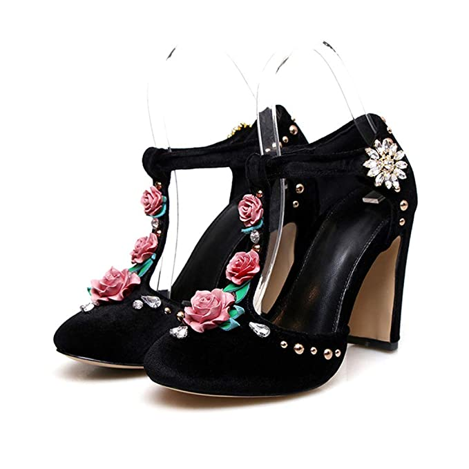 7abbb23acb3cc Women's High Heels 2019 New Microfiber Closed Toe Fashion Sandals ...