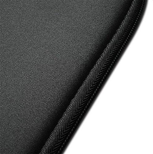 JUNGEN 1 x Laptop Tasche Mode Rechteck Computer Carrying Bag Tasch 14 Zoll Noir X 11 Zoll