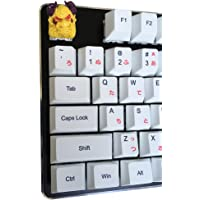 Resin Keycap, Handmade Unique Keycap for Custom Cherry MX Gaming Mechanical Keyboard, 1U ESC Keycap, Bull Head, Yellow