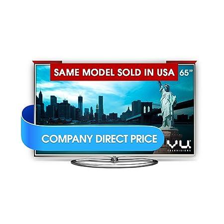 Vu 163cm 65 inches Ultra HD (4K) 3D Wi-Fi Smart LED TV UHD (LTDN65XT780XWAU3D, 4 x HDMI, 3 x USB) Televisions at amazon
