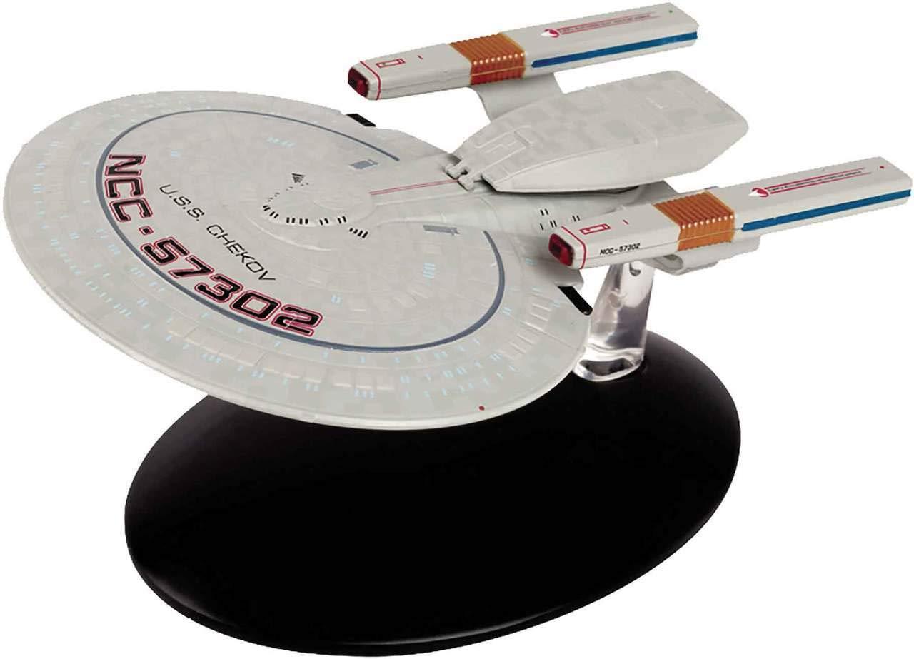 Star Trek U.S.S Chekov NCC-57302 Class Springfield 12cm Modelo DieCast EAGLEMOSS