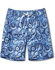 TSLA Women's UPF 50+ Swim Shorts, Quick Dry Water Beach Board Short, Bathing Swimsuit Bottom