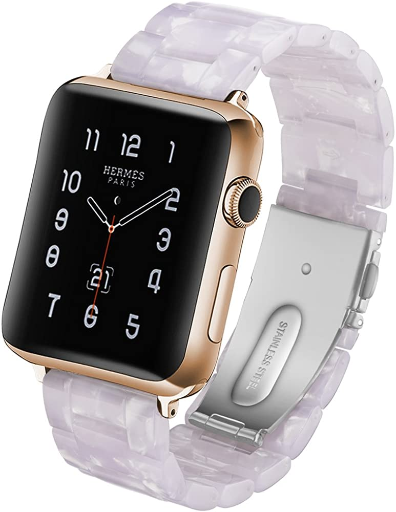 Compatible Apple Watch 38mm 40mm 42mm 44mm Series 6 5 4 3 2 1 SE, Scrunchie band
