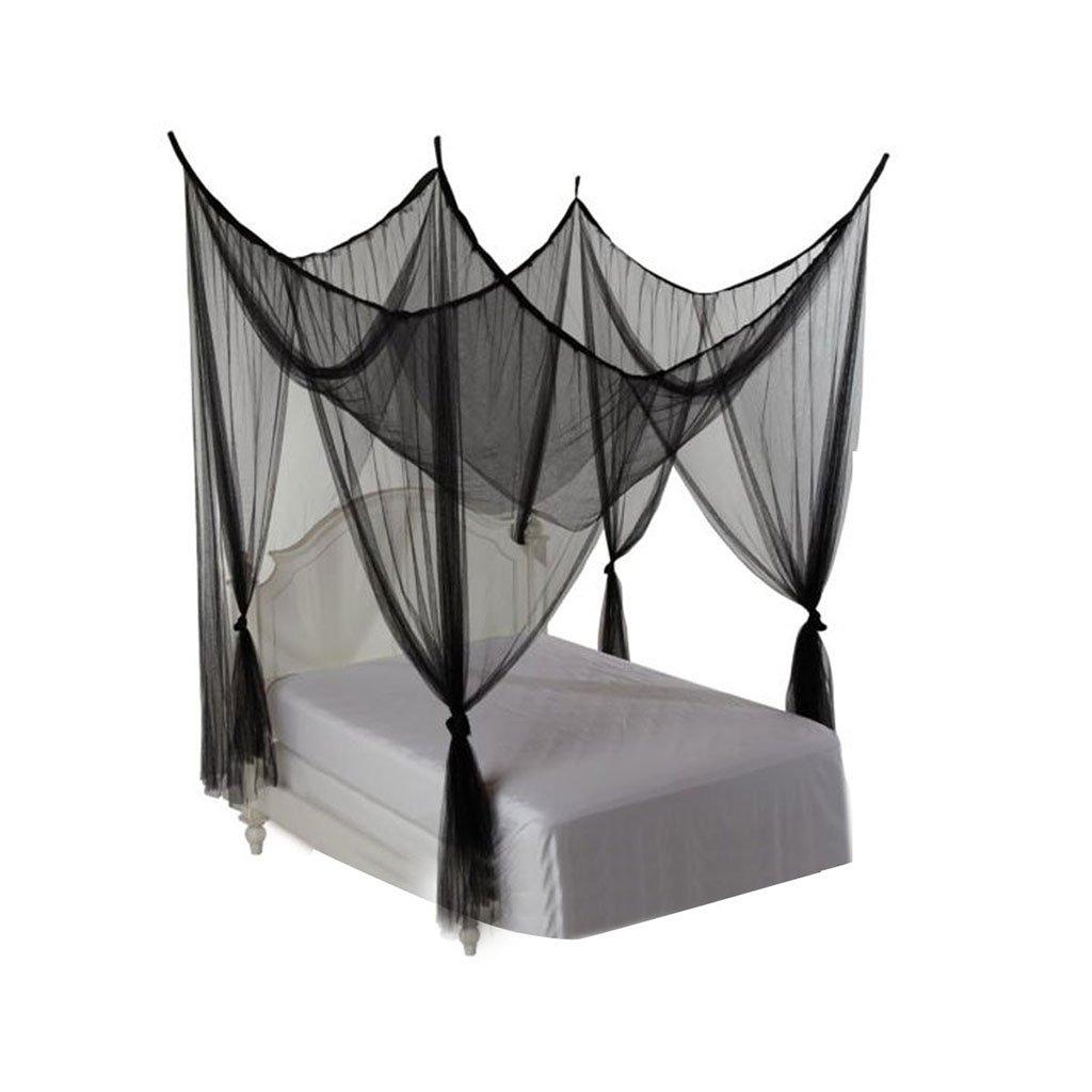 Bai lei jia ju shop Luxus Spitze Spitze Luxus Moskitonetz Dome Netting Baldachin Vorhänge Schnelle Installation für Erwachsene Indoor Outdoor Trip Anti Insektenbisse Keine Chemikalien (Farbe : Grün, stil : B) 67004d
