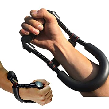 TECHSON Hand Wrist Forearm Strengthener, Adjustable Hand Grip Workout  Training Exerciser Equipment, Enhance Muscle Strength Power Tool for  Athletes
