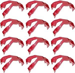 Yardwe 12pcs Trongs Prep Finger Prep Eating Trongs Guards for Eating/Snacking - Finger Food Utensil Finger Glove Finger Cover Finger Protector for Home Kitchen Restaurant