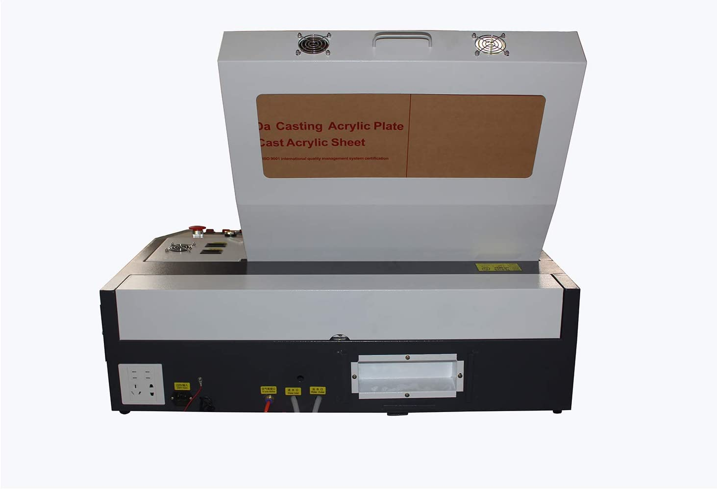 Ten de High 4040 400 x 400 mm 15.7 x 15.7 inches 40 W/50 W 220 V Crafts – Laser Engraving Machine with USB Port, versión estándar., TH-CO2-JK4040-40W-BP: Amazon.es: Bricolaje y herramientas