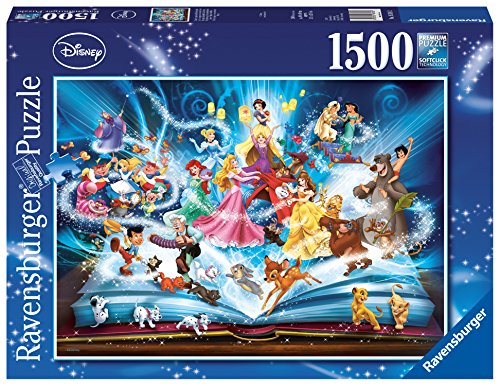 Ravensburger Disneys Magical Book of Fairytales Jigsaw Puzzle (1500 Piece)