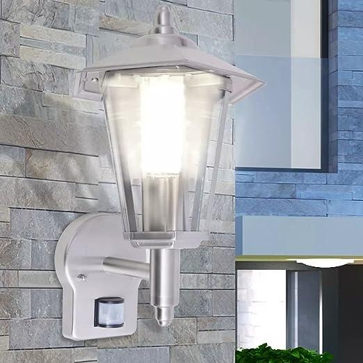 Design in acciaio inox Lampada Esterna Lampada Esterna Lampada da giardino Lampada Parete Lampada Giardino Vetro