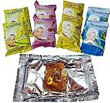 8 Sweet Packet 400 gm Sugaring Sugar Wax Hair Removal 100% Natural All