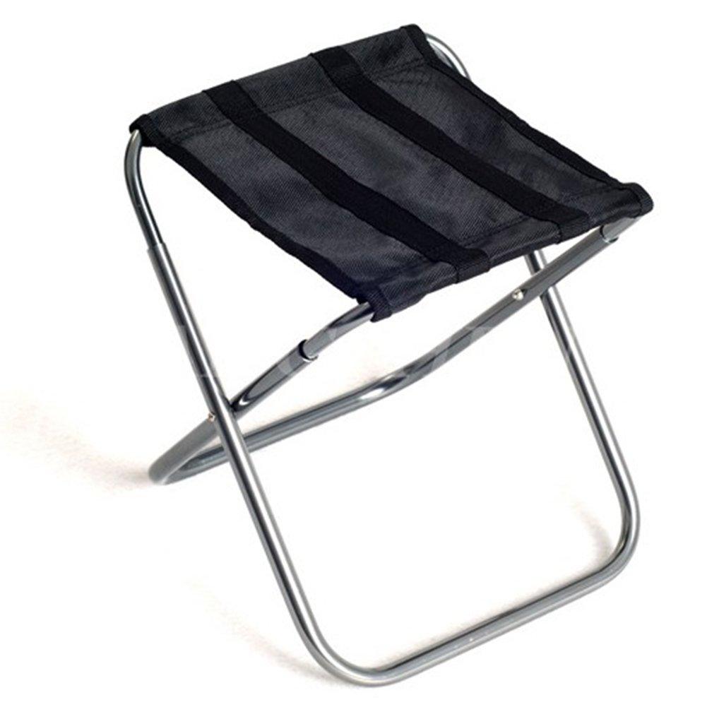 Anna Kletterstuhl Outdoor Tragbare Klappstuhl Angeln Camping Strand Stuhl Casual Klappstuhl Haushalt Einfache Lagerung Stuhl Zug Stuhl Schwarz