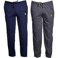 Vimal Men's Cotton Trackpants - Set of 2