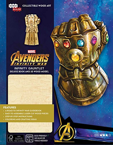 BEST IncrediBuilds: Marvel: Infinity Gauntlet Deluxe Book and Model Set [E.P.U.B]