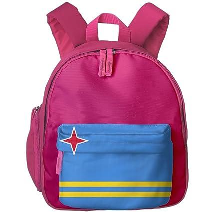 fengyaojianzhu Aruba bandera moda escuela libro bolsa viaje estudiante mochila para niños niños niñas niños