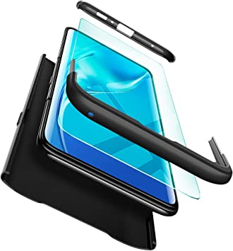 ivencase Funda Samsung Galaxy A80 + Cristal Templado, para Samsung ...
