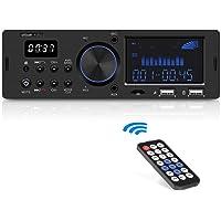 Autoradio Bluetooth Coche RDS ieGeek, Estéreo 60W X