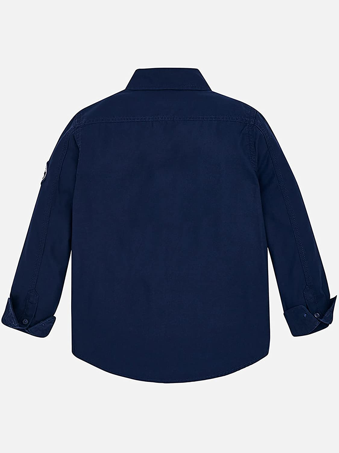 Indigo L//s Patched Shirt for Boys 7148 Mayoral