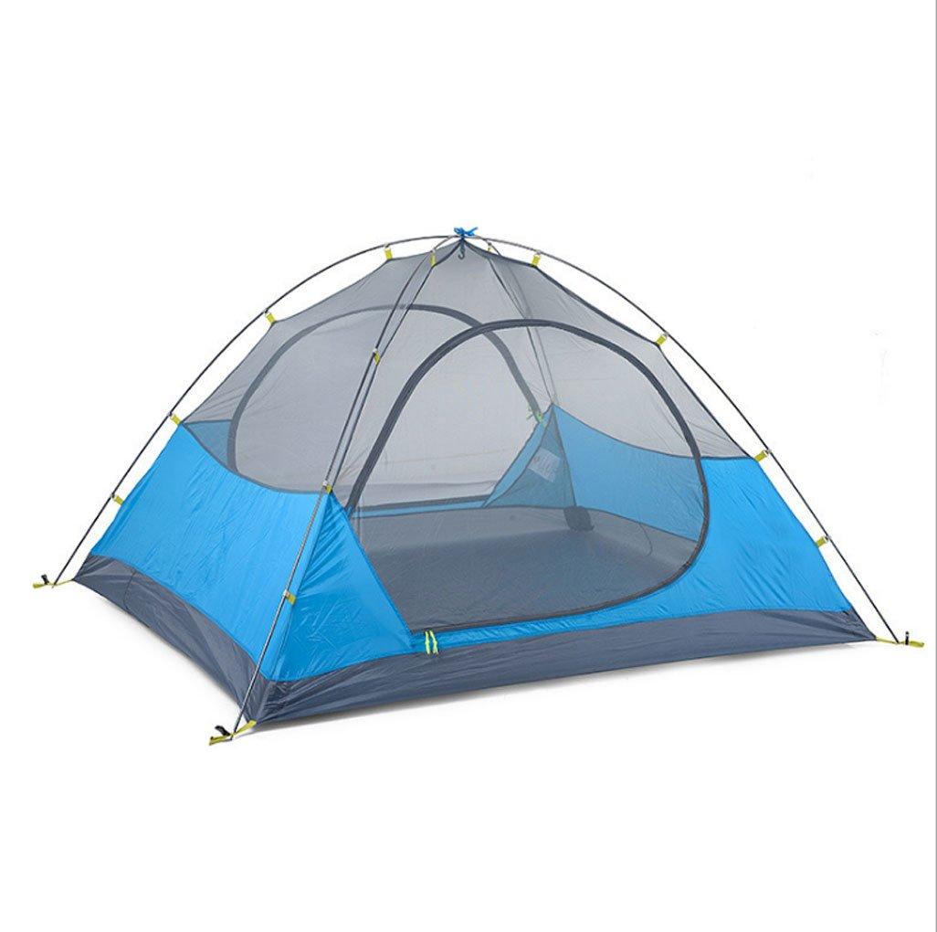 GXWFUI Trekkingzelt, 34 Personen-Zelt Wasserdicht, Sonnenschutz