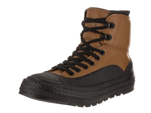 56864c9a71aad0 Converse Unisex Chuck Taylor All Star Tekoa Hi Antiqued Black White Boot  10.5 Men