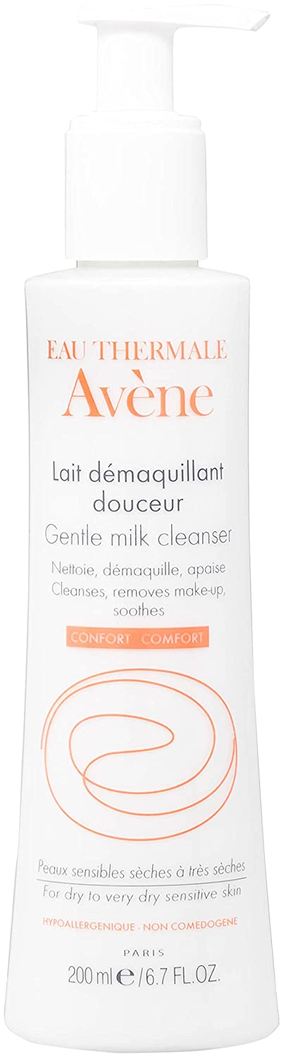 Avene Gentle Milk Cleanser - 200ml 15 3282779051514