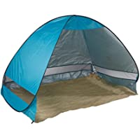 Pop Up Beach Tent Canopy UV Camping Fishing Mesh Sun Shade Shelter Large Size for 4 Persons