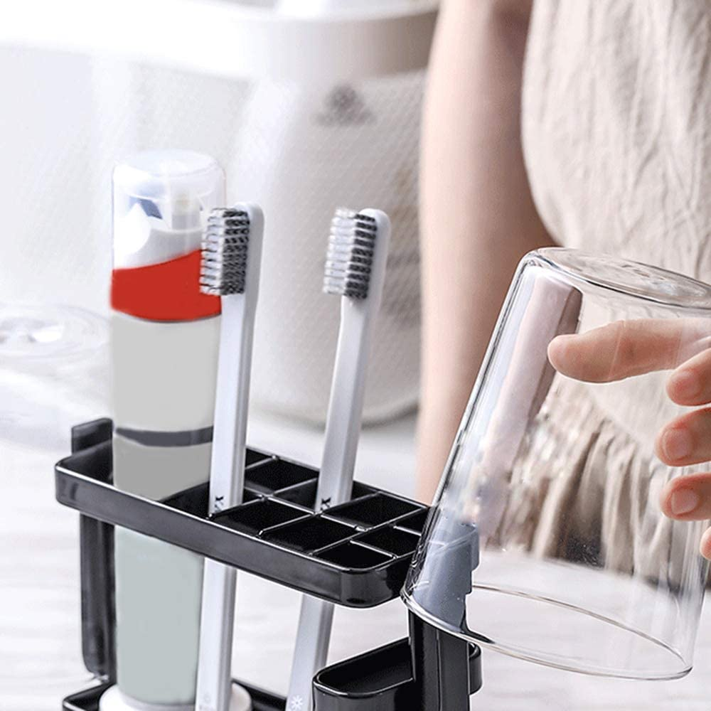 Toothbrush holder Brosse /à Dents Rack Mouth Cup Peigne Brosse /à Dents Set Set Brush Brush Cup Rack Rack
