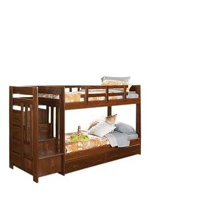 Amazon Com Chelsea Home Furniture 361544 S Twin Over Twin