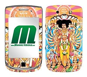 MusicSkins, MS-JIMI30199, Jimi Hendrix? - Axis Bold As Love, BlackBerry Torch (9800), Skin by supermalls