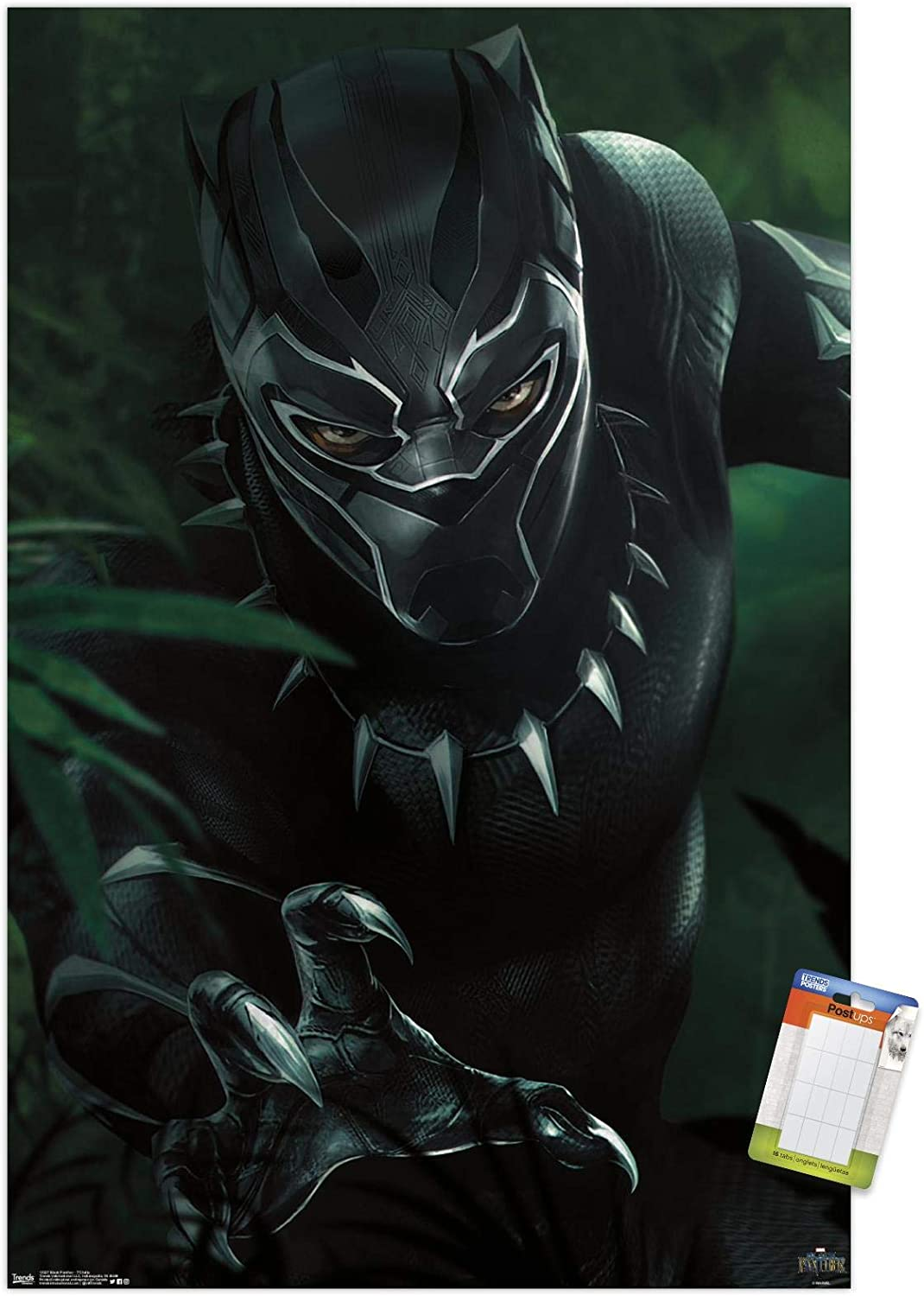Trends International Marvel Cinematic Universe - Black Panther - T'Challa Wall Poster, 14.725
