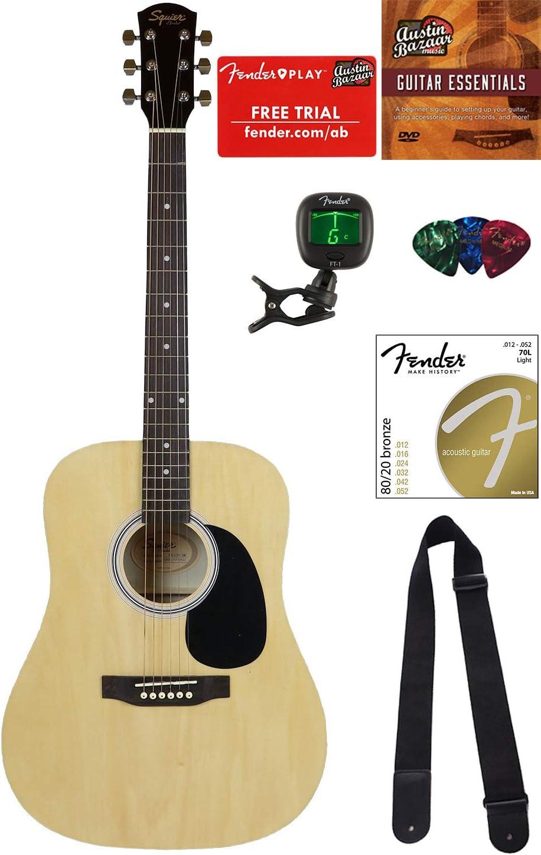 Squier por Fender guitarra sa-150 paquetes: Amazon.es: Instrumentos musicales