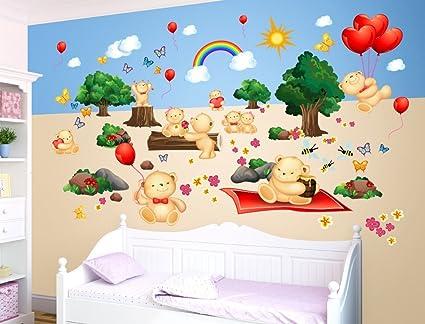 Dipinti Murali Per Camerette : I love wandtattoo i love di adesivo was adesivi murali