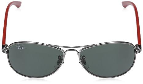 RAY BAN JUNIOR - 9529S - Lunettes de soleil Homme, Gris (gunmetal)   Amazon.fr  Vêtements et accessoires b8ffd0469578