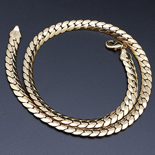 delight-eshop-new-gold-plated-men-hip-hop-collar-necklace-snake-curb-copper-chain-jewelry-1-9mm