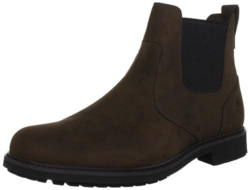 | Timberland Stormbuck Chelsea Mens Boots Brown