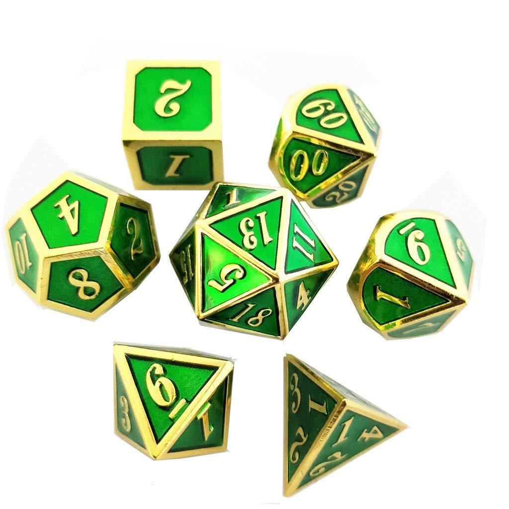 海外ブランド  TLL TECHNOLOGY TECHNOLOGY メタルゲームダイス TLL B07JGZBBN7 Green-gold Green-gold, 山川町:2ca698b9 --- arianechie.dominiotemporario.com